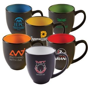 15 Oz. Two-Tone Matted Bistro Mug
