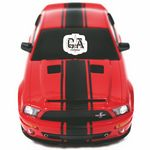 Custom Shelby Mustang GT500 Super Snake (Red) (Scale 118)