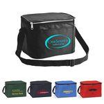 Custom 420D Heavy Duty 6 Can Cooler Bag