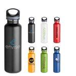 Custom 25 Oz. Ice-Lite Stainless Steel Bottle w/ Carabiner