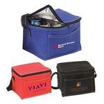 Custom 6 Pack Promotional Non-Woven Cooler Bag