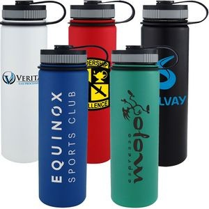 18 Oz. The Travelor Stainless Steel Vacuum Bottle