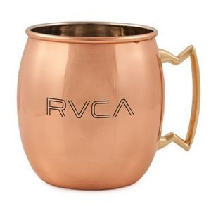 17 oz. Copper Coated Stainless Steel Moscow Mule Mug