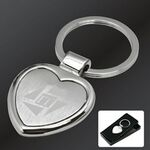 Custom Heart Shaped Keytag