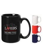 Custom 15 Oz. Bistro Mug