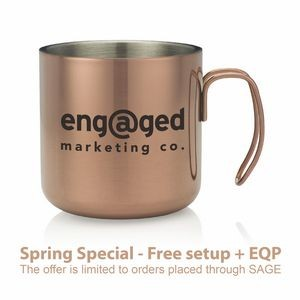 14 Oz. Copper Mule Camper