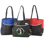 Custom Two Tone Promotional Business Tote