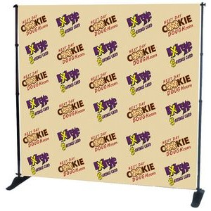 8'x8' Vinyl Banner for Pegasus Stand - Banner Only