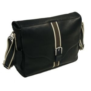 European Messenger Bag w/ Padded Laptop Compartment