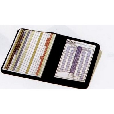 G-Stat Golf Book Vinyl Pad Holder