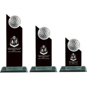 Crystal Golf Ball Pinnacle Award