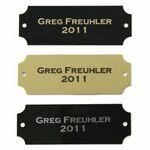 Custom Perpetual Individual Name Plates