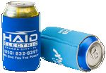 Custom FoamZone Neoprene Collapsible Can Cooler