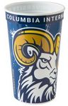 Custom 22 oz. Classic Smooth Walled Plastic Stadium Cup with our RealColor360 Imprint
