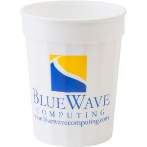 17 oz. Fluted Stadium Plastic Cup