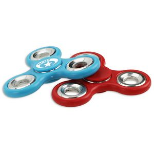 Fidget Spinner with Silver Weights