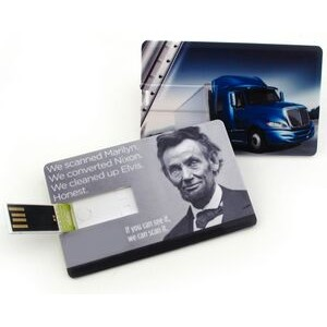 2 GB Credit Card USB Drive