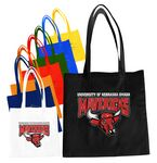 Custom Convention Colored Cotton Canvas Tote Bag - Overseas (15