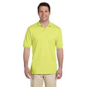 Men's Jerzees® SpotShield™ Blended Jersey Polo Shirt