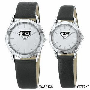 Women's Silver White Dial Round Face Watch