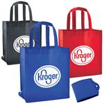 Custom Non-Woven Foldable Shopping/Grocery Tote Bag