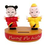 Custom iBank(R) Solar Powered Kung Fu Kids