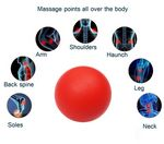 Custom iBank(R)Exercise Massage Ball (Red)