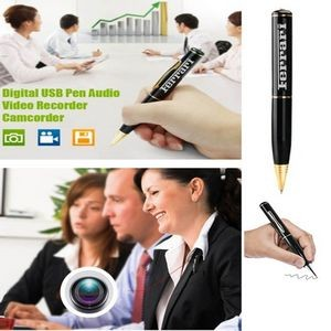 iBank(R) Digital Video Recorder Pen/ USB Drive/ MP3 Player with 4GB Memory