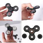 Custom iBank Spinner Fidget Toy (Black)