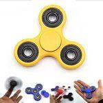 Custom iBank Spinner Fidget Toy (Yellow)