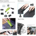 Custom iBank mini USB Vacuum Keyboard Cleaner