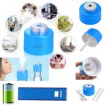 Custom iBank(R)Portable Bottle Cap Air Humidifier + 2,600 mAh Power Charger