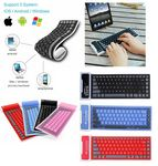 Custom iBank Bluetooth Wireless Keyboard for Smartphones and Tablets