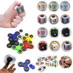Custom iBank Hand Spinner + Cube Fidget Toy