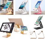 Custom iBank Aluminum Charging Dock Stand Cradle for Smartphone & Tablet