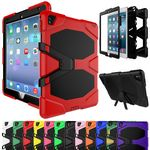 Custom iBank(R) Rubberized Back Cover for iPad 2/3/4