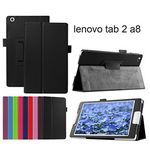 Custom iBank(R) Lenovo TAB 2 A8 PU Leather Case