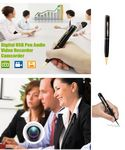 Custom iBank Digital Video Recorder Pen/ USB Drive/ MP3 Player (Memory card not included)
