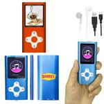 Custom iBank(R) MP3/MP4 Video Music Player with 4G Memory / Voice Recorder (Orange)