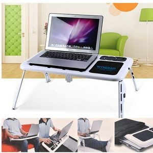 iBank(R) Laptop computer table (white)