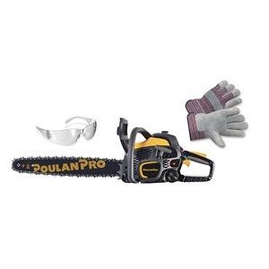 "Poulan Pro - 50cc, 20"" Chainsaw with Carry Case Package"