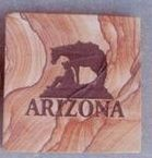Custom Square Sandstone Coaster (3 1/2