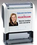 Custom Trodat New Home Return Address Stamp w/ Direct 4-Color Case Print Logo