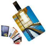 Custom Credit Card USB Drive 1GB