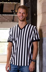 Mens Referee V-Neck Shirt
