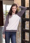 Custom Ladies Long Sleeve Raglan