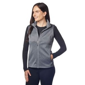 Ladies' Flash Bonded Soft Shell Vest