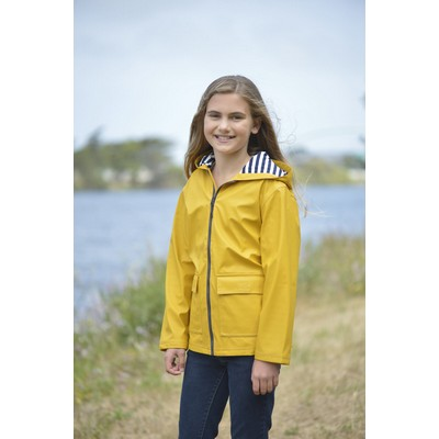 Youth Northwest Hooded Rain Slicker