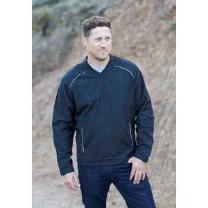 V-Neck Vapor Windshirt w/Reflective Trim