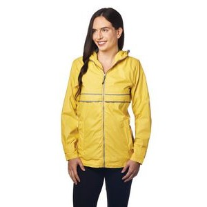 Ladies' Northwest Hooded Rain Slicker Coat